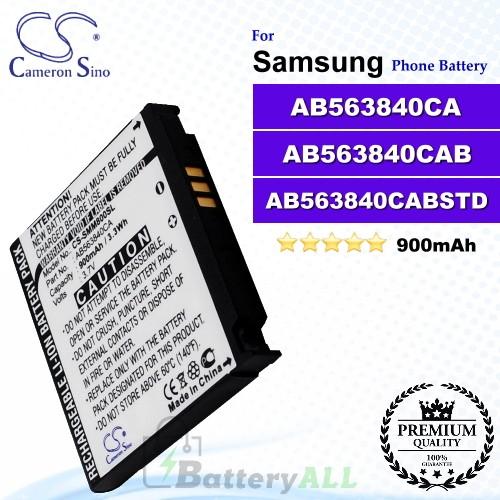 CS-SMM800SL For Samsung Phone Battery Model AB563840CA / AB563840CAB / AB563840CABSTD