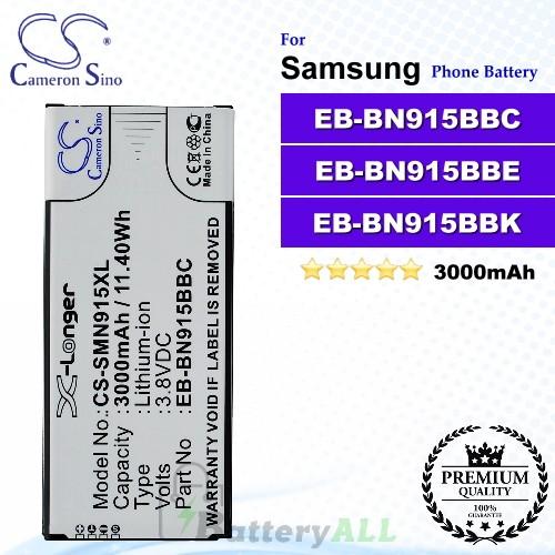 CS-SMN915XL For Samsung Phone Battery Model EB-BN915BBC / EB-BN915BBE / EB-BN915BBK