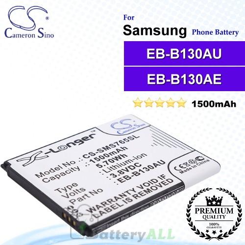 CS-SMS765SL For Samsung Phone Battery Model EB-B130AU / EB-B130AE