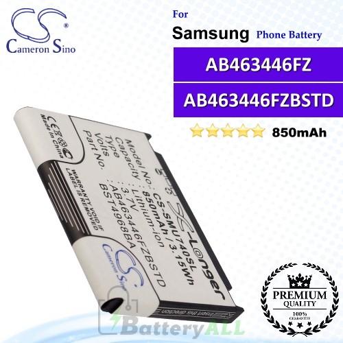 CS-SMU740SL For Samsung Phone Battery Model AB463446FZ / AB463446FZBSTD / BST4968BA