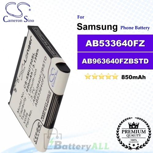 CS-SMU750SL For Samsung Phone Battery Model AB533640FZ / AB963640FZBSTD