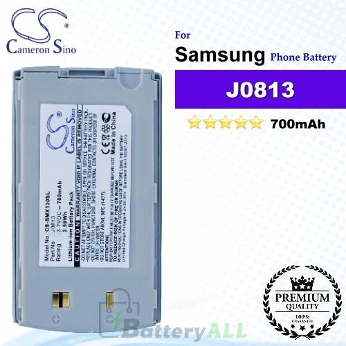 CS-SMX130SL For Samsung Phone Battery Model J0813