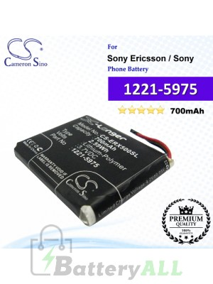 CS-ERX500SL For Sony Ericsson Phone Battery Model 1221-5975