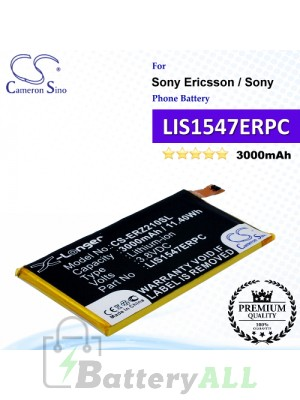 CS-ERZ210SL For Sony Ericsson / Sony Phone Battery Model LIS1547ERPC