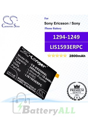 CS-ERZ500SL For Sony Ericsson / Sony Phone Battery Model 1294-1249 / LIS1593ERPC
