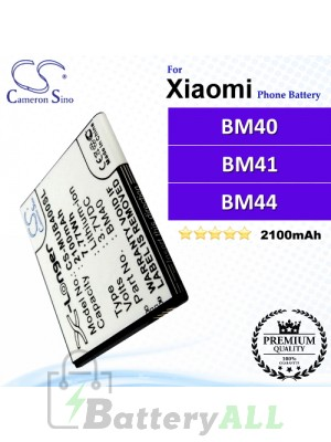 CS-MUB400SL For Xiaomi Phone Battery Model BM40 / BM41 / BM44
