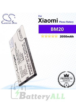 CS-MUM002XL For Xiaomi Phone Battery Model BM20