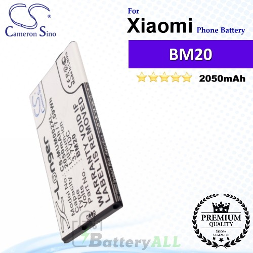 CS-MUM002XL For Xiaomi Phone Battery Model BM20