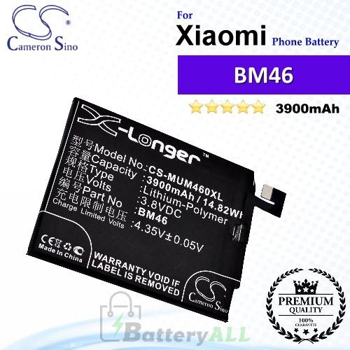CS-MUM460XL For Xiaomi Phone Battery Model BM46