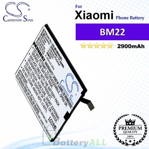 CS-MUM500SL For Xiaomi Phone Battery Model BM22