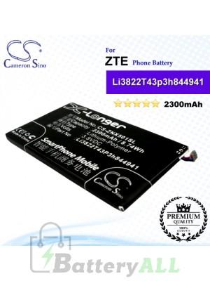 CS-ZNX501SL For ZTE Phone Battery Model Li3822T43p3h844941