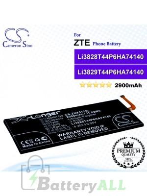 CS-ZNX511SL For ZTE Phone Battery Model Li3829T44P6HA74140