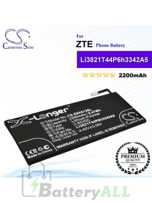 CS-ZNX513SL For ZTE Phone Battery Model Li3821T44P6h3342A5