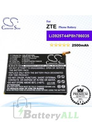 CS-ZTA910SL For ZTE Phone Battery Model Li3925T44P8h786035