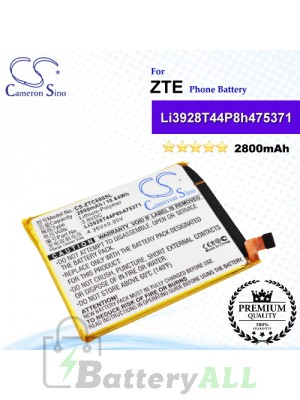 CS-ZTC880SL For ZTE Phone Battery Model Li3928T44P8h475371