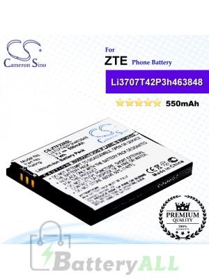 CS-ZTF228SL For ZTE Phone Battery Model Li3707T42P3h463848