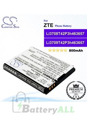 CS-ZTF290SL For ZTE Phone Battery Model Li3709T42P3h463657 / Li3708T42P3h463657