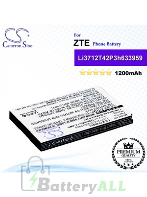 CS-ZTF860SL For ZTE Phone Battery Model Li3712T42P3h633959