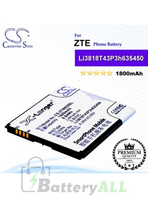 CS-ZTN820SL For ZTE Phone Battery Model Li3818T43P3h635450