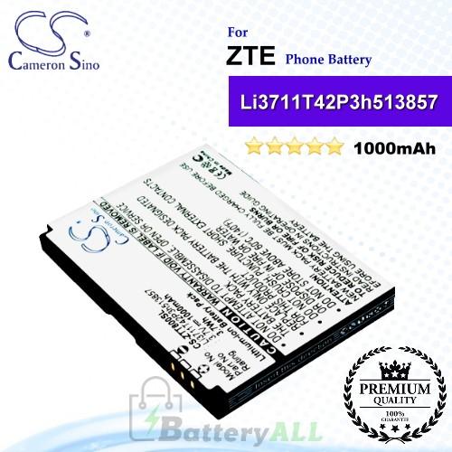 CS-ZTT800SL For ZTE Phone Battery Model Li3711T42P3h513857