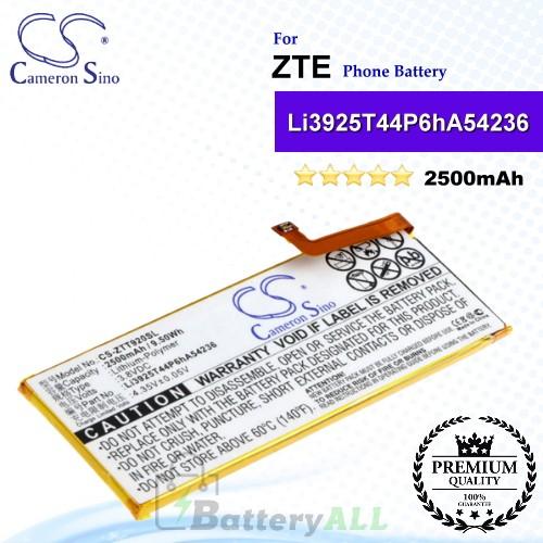 CS-ZTT920SL For ZTE Phone Battery Model Li3925T44P6hA54236