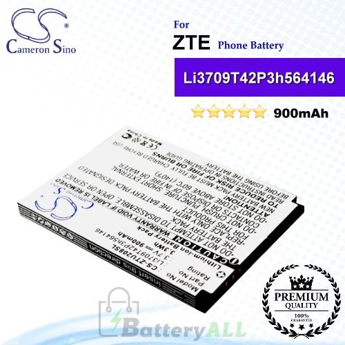 CS-ZTU208SL For ZTE Phone Battery Model Li3709T42P3h564146