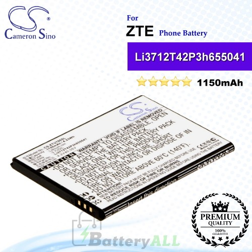 CS-ZTU790SL For ZTE Phone Battery Model Li3712T42P3h655041