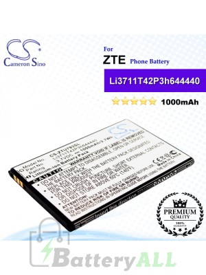 CS-ZTU793SL For ZTE Phone Battery Model Li3711T42P3h644440