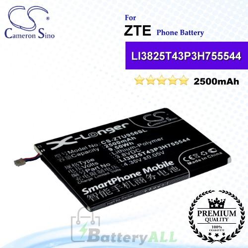 CS-ZTU956SL For ZTE Phone Battery Model LI3825T43P3H755544
