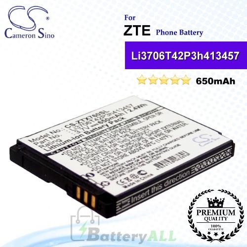 CS-ZTX760SL For ZTE Phone Battery Model Li3706T42P3h413457