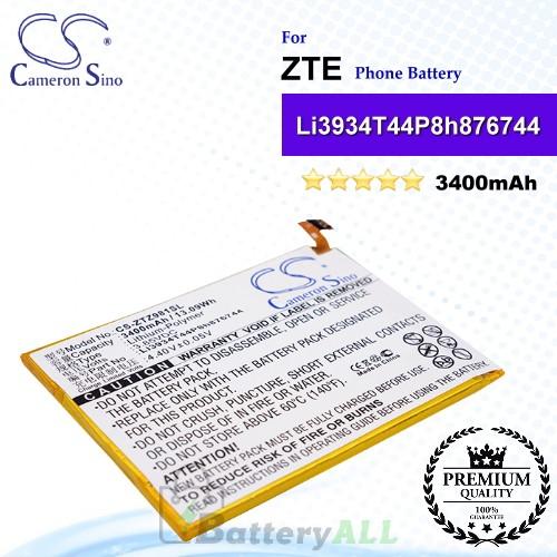 CS-ZTZ981SL For ZTE Phone Battery Model Li3934T44P8h876744 / Li3934T44PH8H876744