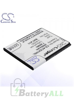 CS Battery for Acer Liquid Z410 / Acer T01 / Acer TM01 Battery PHO-ACZ410SL