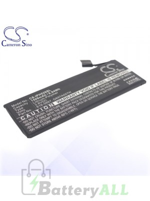 CS Battery for Apple 616-0667 / G69TA007H / PP11AT11S-1 Battery PHO-IPH520SL