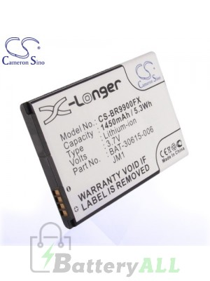 CS Battery for Blackberry Pluto / Storm 3 / Torch 9850 / Torch 9860 Battery PHO-BR9900FX