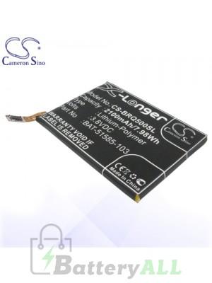 CS Battery for Blackberry BAT-51585-003 / BAT-51585-103 / PTSM1 Battery PHO-BRQ500SL