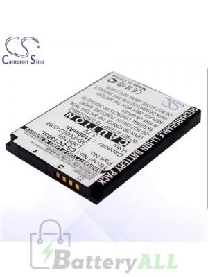 CS Battery for Dopod HTC 35H00082-00M / LIBR160 / Dopod C500 Battery PHO-DC730SL