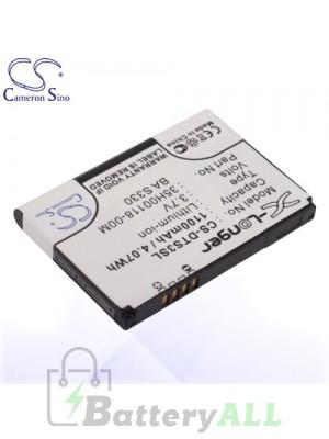 CS Battery for Dopod HTC 35H00118-00M / BA S330 / JADE160 / HTC Fuwa Battery PHO-DTS3SL