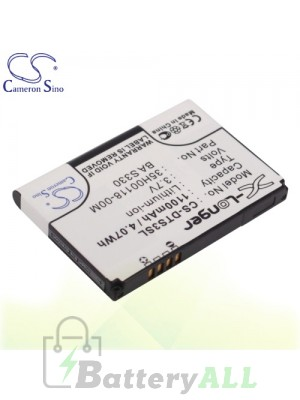CS Battery for HTC Touch Cruise II / Touch Flo 3D / Twin 10000 Battery PHO-DTS3SL