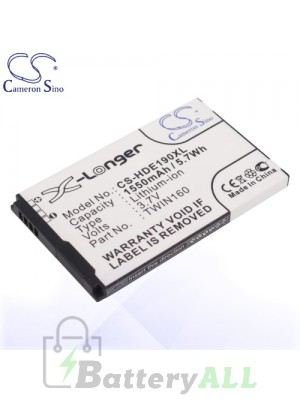 CS Battery for Google Dopod HTC 35H00121-05M / BA S380 / TWIN160 Battery PHO-HDE190XL