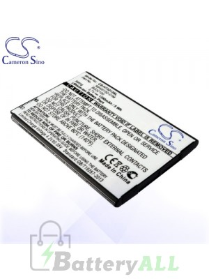 CS Battery for Google HTC 35H00152-01M / 35H00152-02M / BA S520 Battery PHO-HT3213SL
