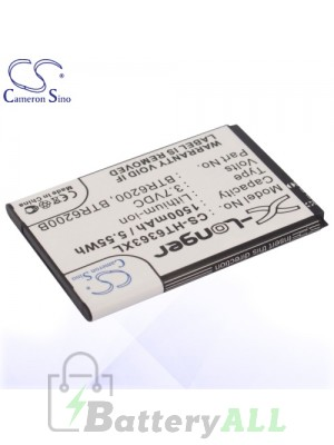 CS Battery for Dopod Google HTC 35H00127-05M / BB00100 / BTR6200 Battery PHO-HT6363XL
