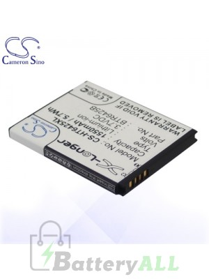 CS Battery for HTC BH98100 / BTR6425 / BTR6425B / HTC ADR6425 Battery PHO-HT6425XL