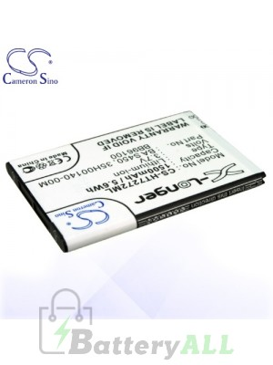 CS Battery for HTC F5151 / Freestyle / Mozart / PC10100 Battery PHO-HT7272ML