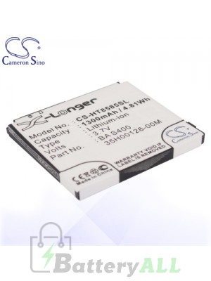 CS Battery for Dopod HTC 35H00128-00M / BA S400 / BB81100 Battery PHO-HT8585SL