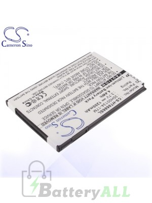 CS Battery for HTC M1 / HTC PC40100 / HTC Spark / HTC T8686 Battery PHO-HT8686SL