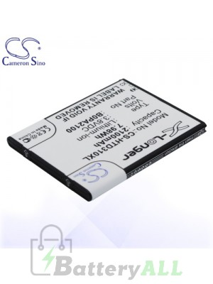 CS Battery for HTC Desire D310f / HTC Desire D310w / HTC Desire V1 Battery PHO-HTD310XL