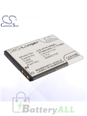 CS Battery for HTC 35H00213-00M / 35H00215-00M / 35H00228-00M Battery PHO-HTE100XL