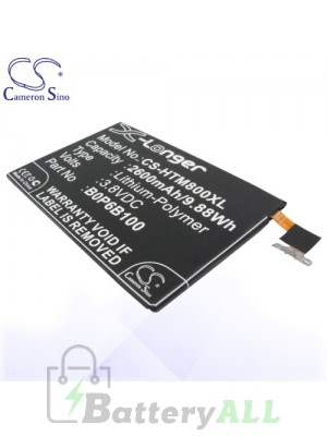 CS Battery for HTC 35H00214-00M / 35H00214-01M / B0P6B100 Battery PHO-HTM800XL