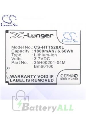 CS Battery for HTC Z4 / T528t / T528W / T606W / T608T / T609D Battery PHO-HTT528XL