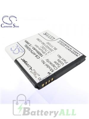 CS Battery for HTC 35H00190-03M / BA S800 / BJ39100 / BL11100 Battery PHO-HTV328SL